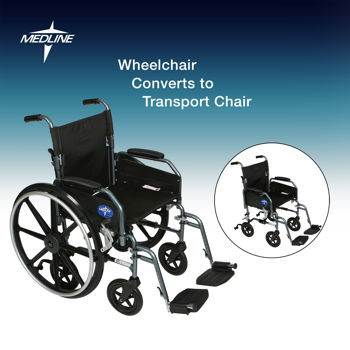 Wheelchair / Transport Chair - Combo N Transport Chair / Rollator - Combo