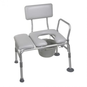 Transfer Bench w Commode